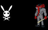 Boo Bunny Plague Background Ganny