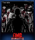 OMG Zombies Card 1