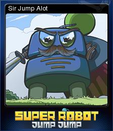 Super Robot Jump Jump Card 4