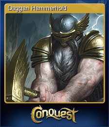 Conquest of Champions Card 1