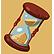 16bit Trader Emoticon retro hourglass
