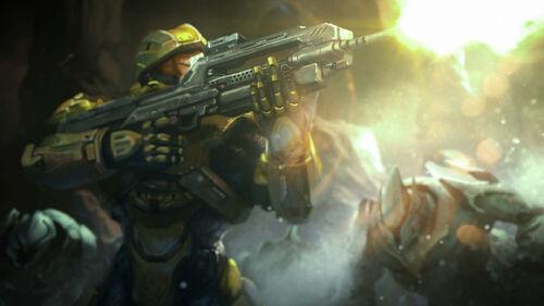 Halo Spartan Assault Artwork 4