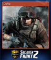 Soldier Front 2 Card 1