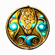 9 Clues The Secret of Serpent Creek Badge Foil