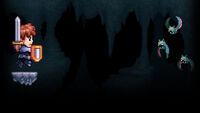 A Lenda do Herói Background Malditos Morcegos