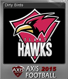 Axis Football 2015 Foil 6