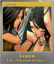 Loren The Amazon Princess Foil 2