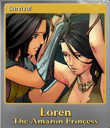 Loren The Amazon Princess Foil 2