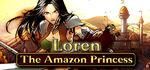 Loren The Amazon Princess Logo