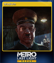 Metro Last Light Redux Card 8