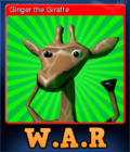 Wild Animal Racing Card 1