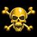 Barbarian Brawl Emoticon goldcrossbones