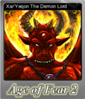 Age of Fear 2 The Chaos Lord Foil 6