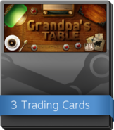 Grandpa's Table Booster Pack