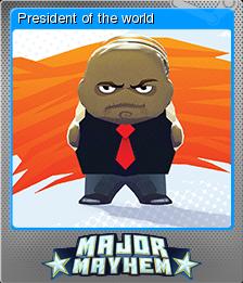 Major Mayhem Card 03 Foil