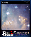 Pixel Puzzles 2 Space Card 5