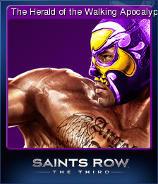Saints Row The Third Card 1