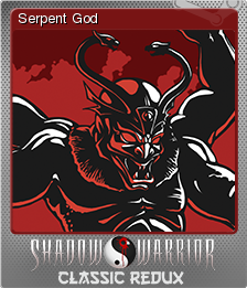 Shadow Warrior Classic Redux Foil 4