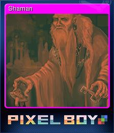Pixel Boy Card 04