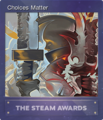 Steam Awards 2017 Foil 01