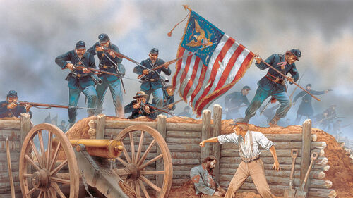 Battleplan American Civil War Artwork 2