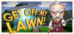 Get Off My Lawn! Logo