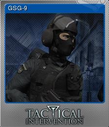 Tactical Intervention Foil 3