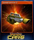 Burning Cars Card 4