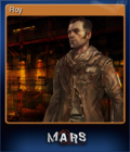Mars War Logs Card 1