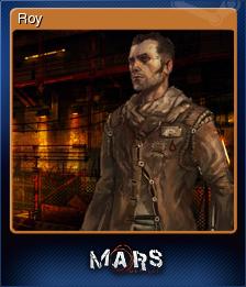 Mars War Logs Card 1