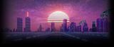 OutDrive Background Sunset city
