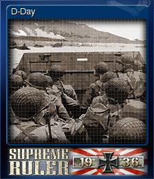 Supreme Ruler 1936 Card 2