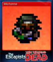 The Escapists The Walking Dead Card 3