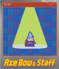 Axe, Bow & Staff Foil 3
