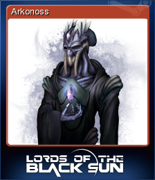 Lords of the Black Sun Card 1