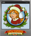 New Yankee in Santa's Service Foil 4