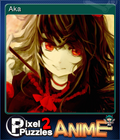 Pixel Puzzles 2 Anime Card 7