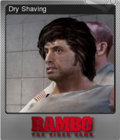 Rambo The Video Game Foil 1