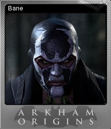 Batman Arkham Origins Foil 1
