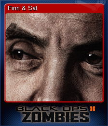 Call of Duty Black Ops II Zombies Card 9