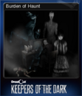 DreadOut Keepers of The Dark Card 5