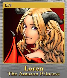 Loren The Amazon Princess Foil 5