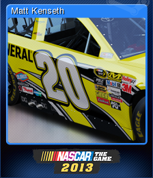 NASCAR the Game 2013 Card 5