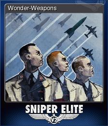 Sniper Elite V2 Card 9