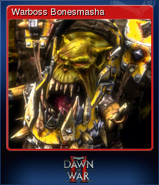 Warhammer 40,000 Dawn of War II Card 11