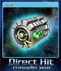 Direct Hit Missile War Card 5