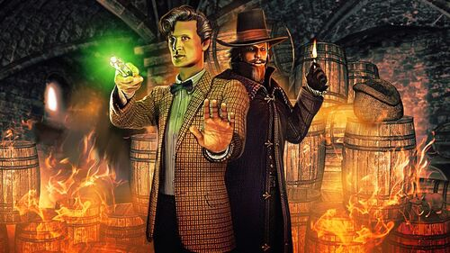 Doctor Who The Adventure Games Artwork 5
