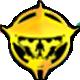 Double Dragon Neon Badge 4