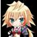 Hyperdevotion Noire Goddess Black Heart Emoticon EinAl