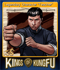 Kings of Kung Fu Card 5